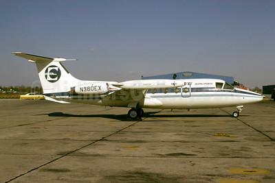 Executive Airlines (1st) Hamburger Flugzeugbau HFB 320 Hansa Jet N380EX (msn 1036) PHL (Bruce Drum). Image: 105115.