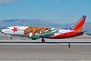 Southwest Airlines Boeing 737-3H4 WL N609SW (msn 27929) (California One) LAS (Eddie Maloney). Image: 907343.