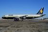 Trans Global Vacations (Ryan International Airlines) (Caledonian Airways) Airbus A320-231 G-CVYE (msn 394) (Caledonian colors) MSP (Greg Drawbaugh). Image: 929877.