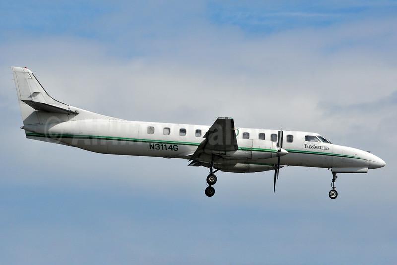TransNorthern Aviation Fairchild SA227AC Metro III N3114G (msn AC-583) ANC (Ken Petersen). Image: 933418.