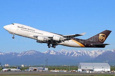 UPS Airlines (UPS-Worldwide Services) Boeing 747-44AF N570UP (msn 35667) ANC (Michael B. Ing). Image: 932978.