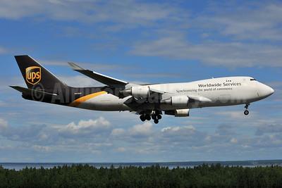 UPS Airlines (UPS-Worldwide Services) Boeing 747-44AF N570UP (msn 35667) ANC (Ken Petersen). Image: 932977.