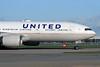 United Airlines Boeing 777-222 ER N788UA (msn 26942) LHR. Image: 930202.