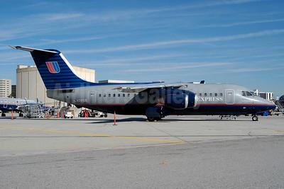 United Express-Air Wisconsin BAE 146-200 N291UE (msn E2084) LAX (Roy Lock). Image: 932137.