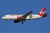 Virgin America Airbus A320-214 N849VA (msn 4991) (World Champions 2014 - San Francisco Giants) IAD (Brian McDonough). Image: 927254.