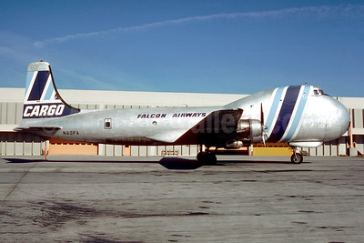 Falcon Airways (USA) Aviation Traders ATL-98 Carvair N80FA (msn 10273) ATL (Christian Volpati Collection). Image: 945129.