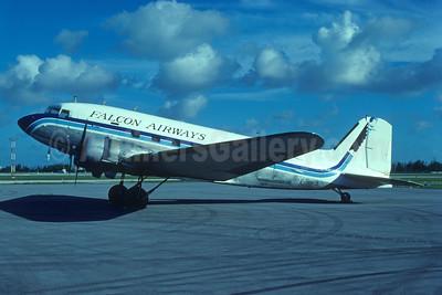 Falcon Airways (USA) Douglas C-47A-DL (DC-3) N88FA (msn 19239) MIA (Bruce Drum). Image: 103222.