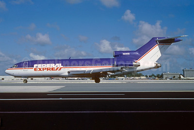 Federal Express Boeing 727-25C N8161G (N125FE) (msn 19717) MIA (Bruce Drum). Image: 102715.