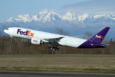 FedEx Express Boeing 777F N877FD (msn 40683) PAE (Nick Dean). Image: 941195.