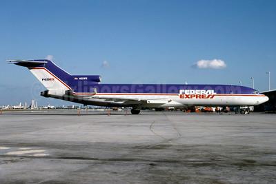 Federal Express Boeing 727-233 (F) N221FE (msn  20932) MIA (Bruce Drum). Image: 102910.