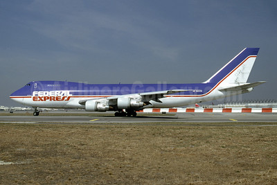 Federal Express Boeing 747-249F N631FE (msn 21827) JFK (Fred Freketic). Image: 945595.