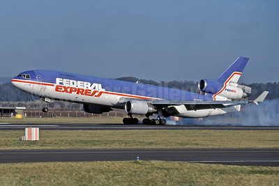 Federal Express McDonnell Douglas MD-11F N608FE (msn 48548) PIK (Rob Rindt Collection). Image: 948195.