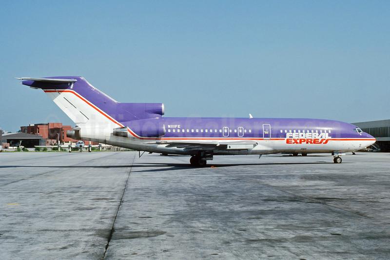 Federal Express Boeing 727-22C N111FE (msn 19805) ATL (Jay Selman). Image: 403958.
