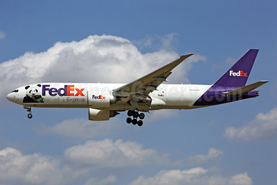 """FedEx Panda Express"" 2017 special markings"