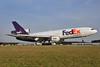 FedEx Express McDonnell Douglas MD-10-10F (DC-10-10F) N359FE (msn 46635) RDU (Ken Petersen). Image: 928962.