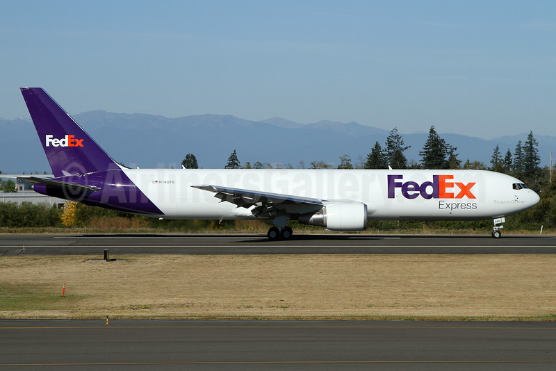 FedEx Express Boeing 767-3S2F ER N140FE (msn 43541) PAE (Nick Dean). Image: 934491.