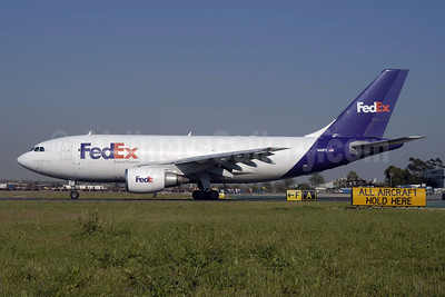 FedEx-Federal Express Airbus A310-203 (F) N411FE (msn 359) LAX (Roy Lock). Image: 90628.