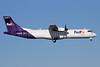 FedEx Feeder-Empire Airlines (3rd) ATR 72-212 (F) N803FX (msn 362) ANC (Michael B. Ing). Image: 930572.