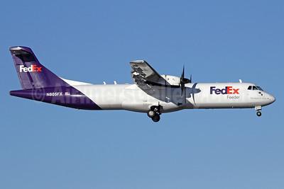 FedEx Feeder-Empire Airlines (3rd) ATR 72-212 (F) N805FX (msn 372) ANC (Michael B. Ing). Image: 930573.