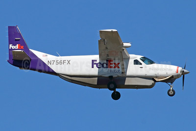 FedEx Feeder-Empire Airlines (3rd) Cessna 208B Grand Caravan (Super Cargomaster) N756FX (msn 208B0532) ANC (Michael B. Ing). Image: 938189.