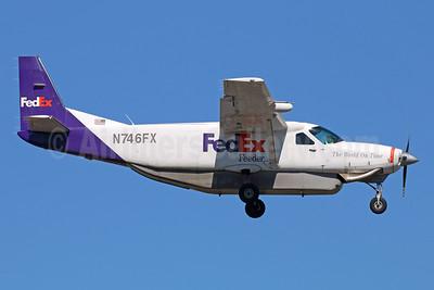 FedEx Feeder-Empire Airlines (3rd) Cessna 208B Grand Caravan (Super Cargomaster) N746FX (msn 208B0498) ANC (Michael B. Ing). Image: 938188.