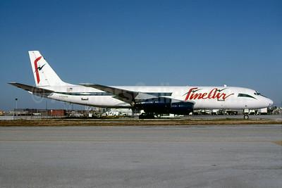 Fine Air McDonnell Douglas DC-8-51 (F) N505FB (msn 45410) MIA (Bruce Drum). Image: 103705.
