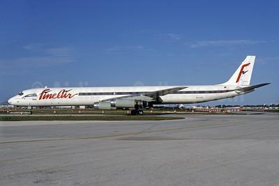 Fine Air McDonnell Douglas DC-8-63 (F) N661AV (msn 45969) MIA (Bruce Drum). Image: 103227.