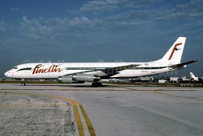 Fine Air McDonnell Douglas DC-8-62 (F) N8969U (msn 46070) MIA (Bruce Drum). Image: 102526.