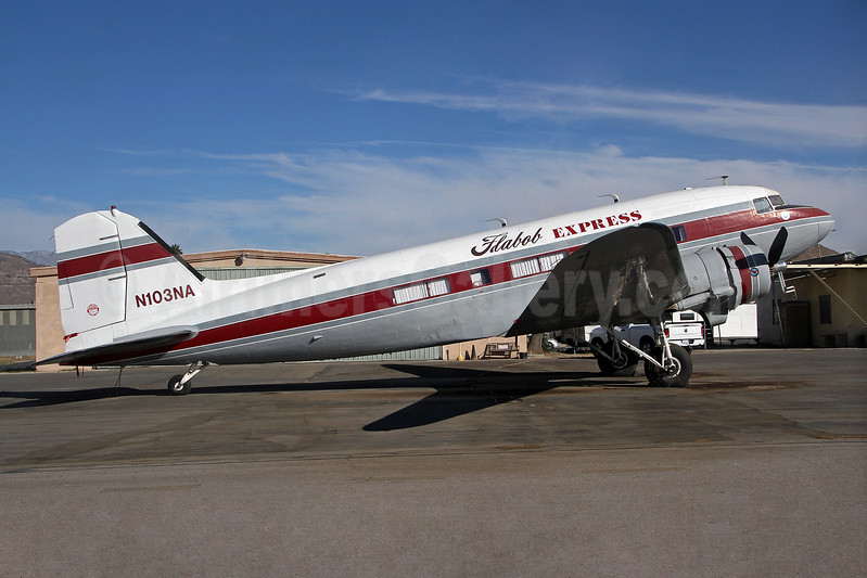Flabob Express Douglas C-47A-DL (DC-3) N103NA (msn 9531) (Classic Express Airways colors) RIR (Keith Burton). Image: 936658.