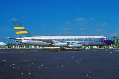 Florida Air Travel Convair 880-22M-22 N880JT (msn 60) MCO (Bruce Drum). Image: 103713.