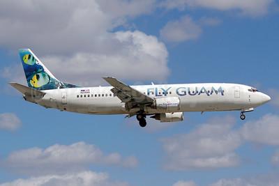 Fly Guam (Sky King Airlines) Boeing 737-4Y0 N238AG (msn 23866) MIA (Luimer Cordero). Image: 920471.