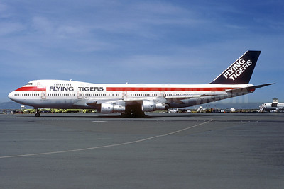 Flying Tigers Boeing 747-133 EI-BPH (msn 20013) (Global International colors) (Christian Volpati Collection). Image: 939616.