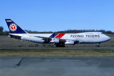 Flying Tigers Boeing 747-124 (F) N822FT (msn 19733) (Christian Volpati Collection). Image: 939614.