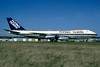 Flying Tigers Boeing 747-245F N701SW (msn 20826) (Seaboard World colors) CDG (Jacques Guillem). Image: 937315.