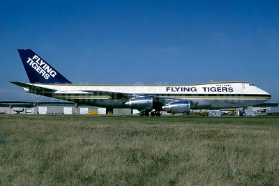 Flying Tigers Boeing 747-245F N701SW (msn 20826) (Seaboard World colors) CDG (Jacques Guillem). Image: 937315.