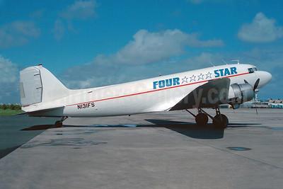 Four Star Air Cargo Douglas C-47B-DK (DC-3) N131FS (msn 32920) SJU (Keith Burton). Image: 947824.