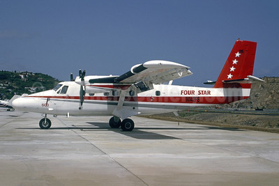 Four Star Air Cargo de Havilland Canada DHC-6-200 Twin Otter N142FS (msn 186) STT (Bruce Drum Collection). Image: 947825.