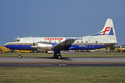 Freedom Airlines (1st) Convair 580 N5836 (msn 169) (Christian Volpati Collection). Image: 928467.