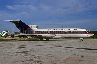 Front Page Tours (Express One International) Boeing 727-31 N230NE (msn 18907) MIA (Bruce Drum). Image: 103715.