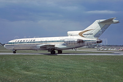 Frontier Airlines (1st) Boeing 727-191 N7270F (msn 19391) DEN (Jacques Guillem Collection). Image: 930319.