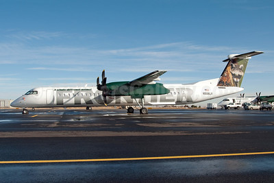 Frontier Airlines (2nd) (Lynx Aviation) Bombardier DHC-8-402 (Q400) N506LX (msn 4176) DEN (Fred Freketic). Image: 949933.