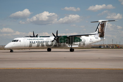 Frontier Airlines (2nd) (Lynx Aviation) Bombardier DHC-8-402 (Q400) N503LX (msn 4170) DEN (Fred Freketic). Image: 949930.