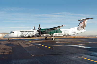 Frontier Airlines (2nd) (Lynx Aviation) Bombardier DHC-8-402 (Q400) N504LX (msn 4172) DEN (Fred Freketic). Image: 949931.