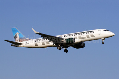 Frontier Airlines (2nd)-Republic Airlines (2nd) Embraer ERJ 190-100 IGW N176HQ (msn 19000461) (Mountain Goat) DCA (Brian McDonough). Image: 910662.