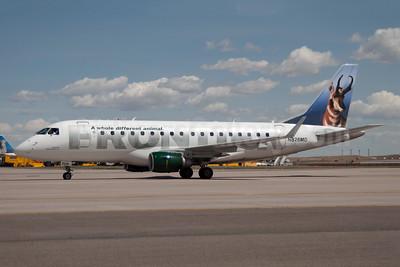 Frontier Airlines (2nd)-Republic Airlines (2nd) Embraer ERJ 170-100SU N826MD (msn 17000046) (Pronghorn - Ranger) DEN (Fred Freketic). Image: 949921.