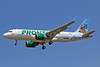 The first Airbus A320neo for Frontier Airlines is delivered