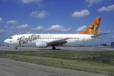 Frontier Airlines (2nd) Boeing 737-317 EI-CHH (msn 23177) (Mallard) (Christian Volpati Collection). Image: 949030.
