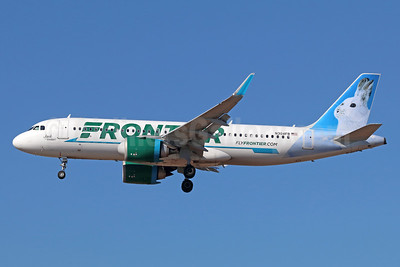 Frontier Airlines (2nd) Airbus A320-251N WL N304FR (msn 7367) (Jack, the Rabbit) LAX (Michael B. Ing). Image: 939660.