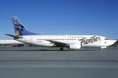 Frontier Airlines (2nd) Boeing 737-36N N306FL (msn 28563) (Christian Volpati Collection). Image: 940925.