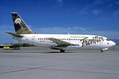 Frontier Airlines (2nd) Boeing 737-201 N217US (msn 20215) (Bald Eagle) DEN (Christian Volpati Collection). Image: 937914.